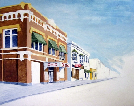 Ohio Theater Painting 1st