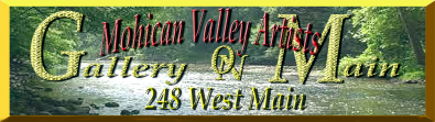 Mohican Area Artists Gallery Sign copy