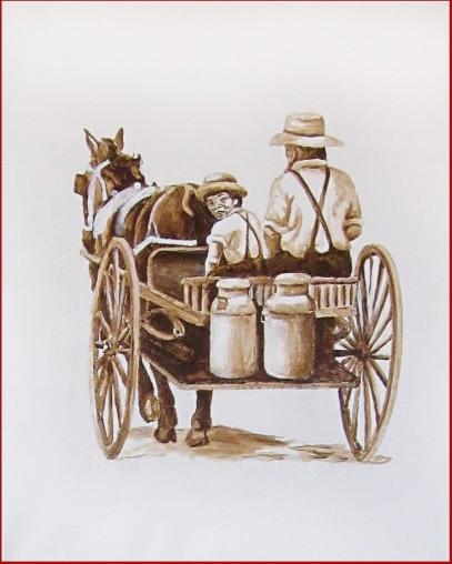 Amish Looking Back 2